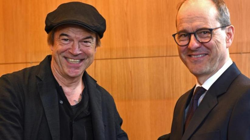 Die Toten Hosen: Bild mit Botschafter: Campino ist jetzt Brite