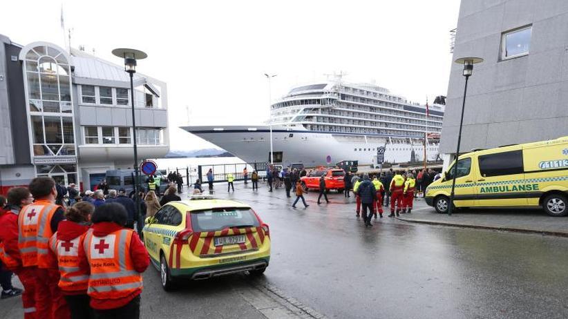 Oslo: Polizei leitet Untersuchungen zu Kreuzfahrtdrama ein