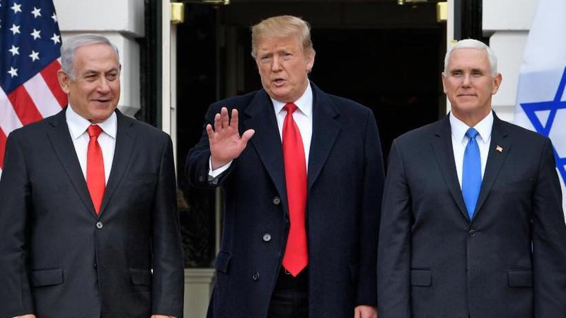 Proklamation unterzeichnet: Trump erkennt Israels Souveränität über Golanhöhen an