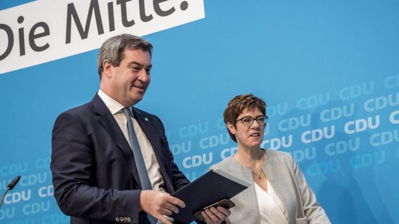Konservativ und proeuropäisch: Union grenzt sich vor Europawahl ab