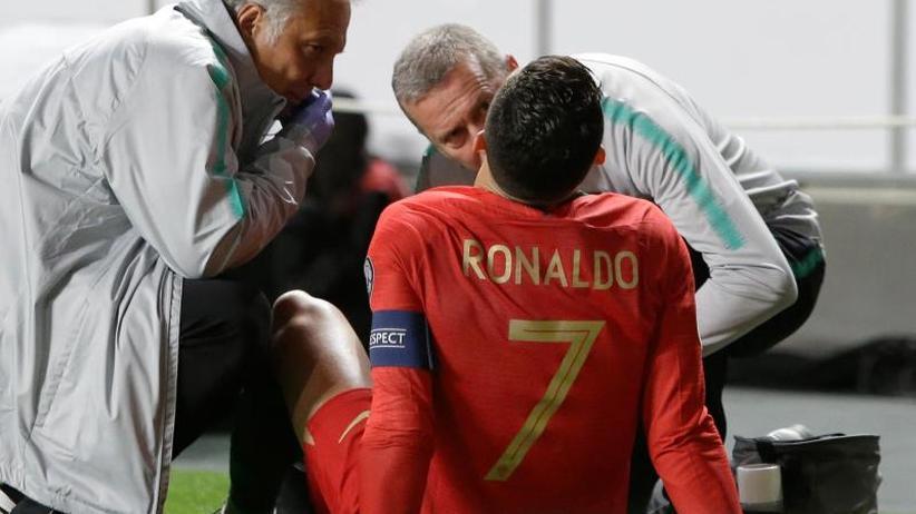 """Superstar verletzt: """"Alarm!"""": Das große Zittern um Cristiano Ronaldo"""