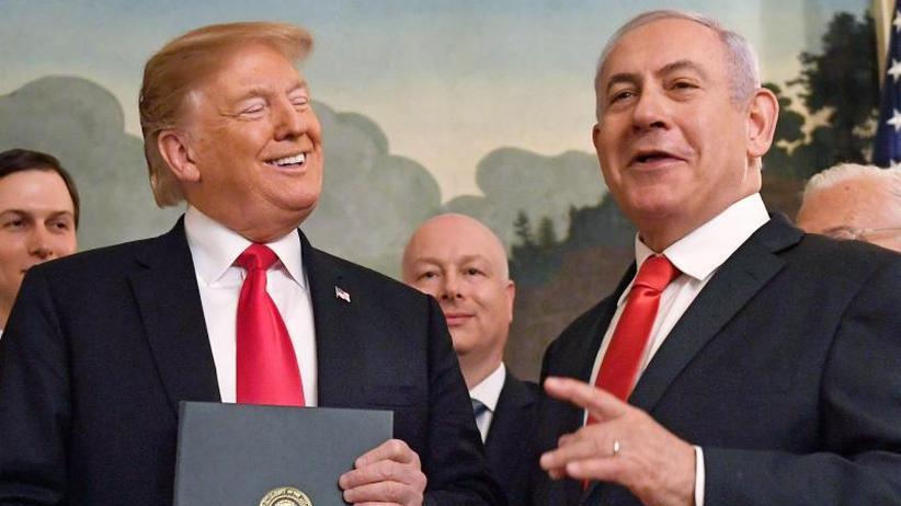 Netanjahus Wunsch erfüllt: Golanhöhen: Trump erkennt Israels Souveränität formell an