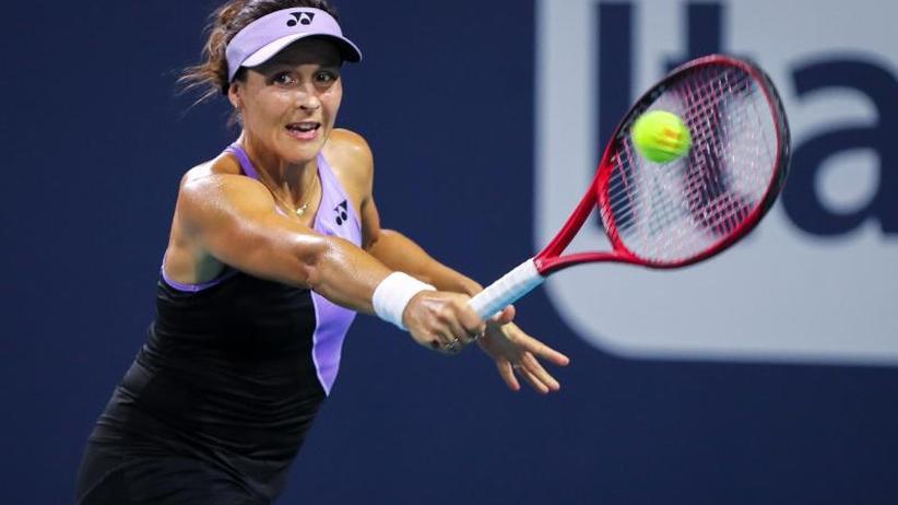 WTA-Turnier: Tatjana Maria scheitert in Miami im Achtelfinale