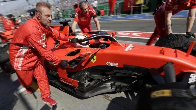 Großer Preis von Bahrain: Fahndung unter Flutlicht: Vettel sucht Rhythmus in der Wüste