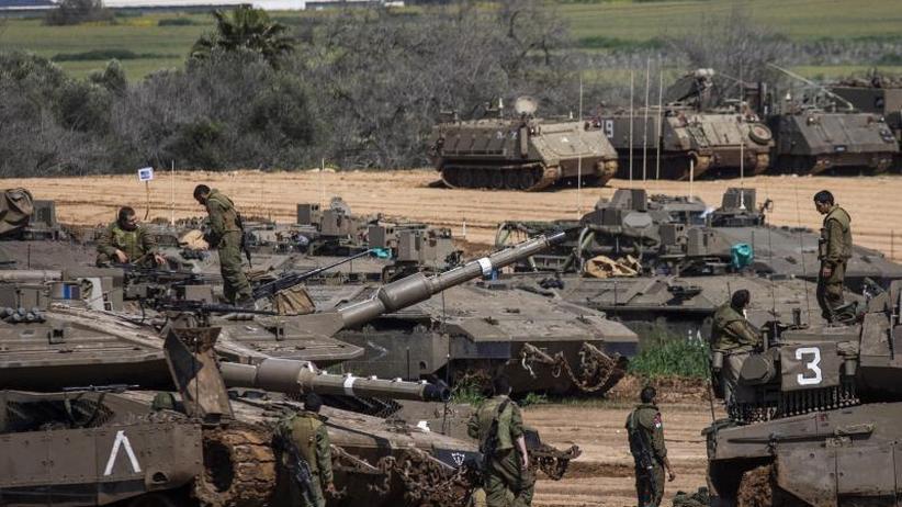"""Sorge vor neuer Gewalt: Palästinenser in Gaza rufen auf zum """"Eine-Million-Marsch"""""""