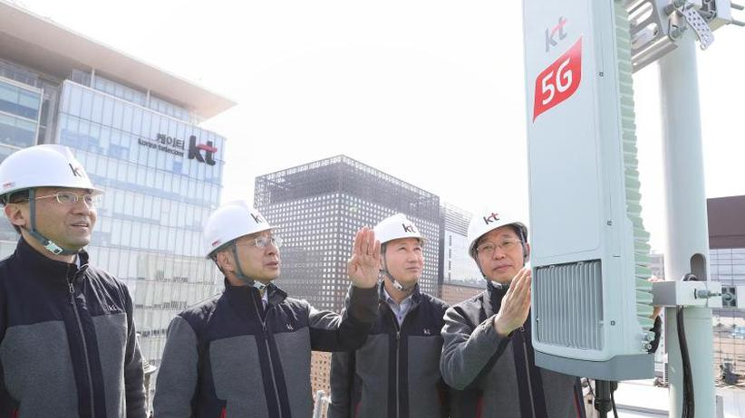 Ultraschnelles Netz: 5G-Netze für Smartphones in Südkorea und den USA gestartet