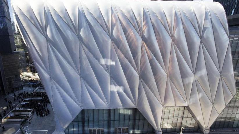 """Plattform für Kunst: Spektakuläres Kulturzentrum """"The Shed"""" öffnet in New York"""
