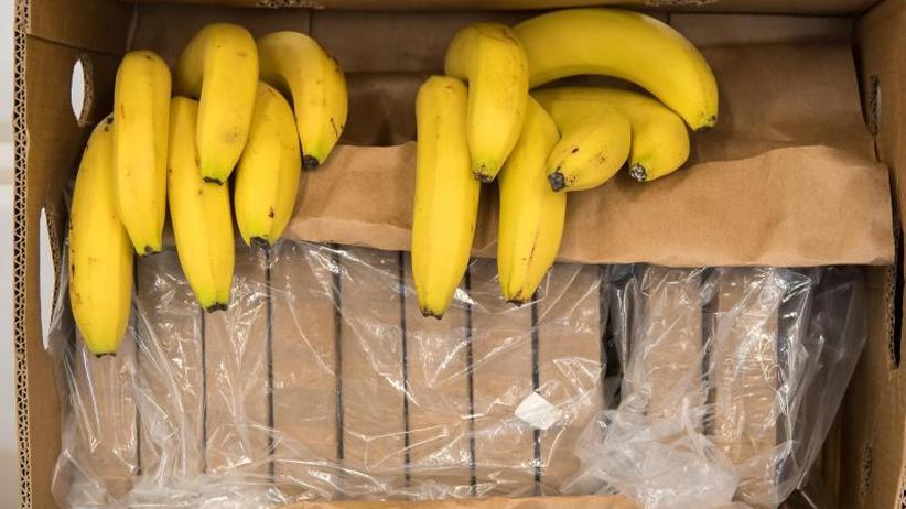 Polizei durchsucht Filialen: Überraschung beim Discounter: Kokain in Bananenkartons