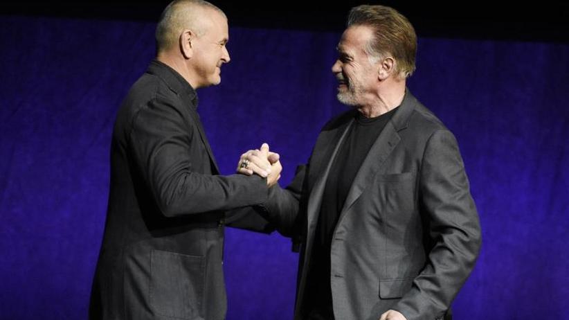 """I'm back: Arnold Schwarzenegger wirbt für """"Terminator: Dark Fate"""""""