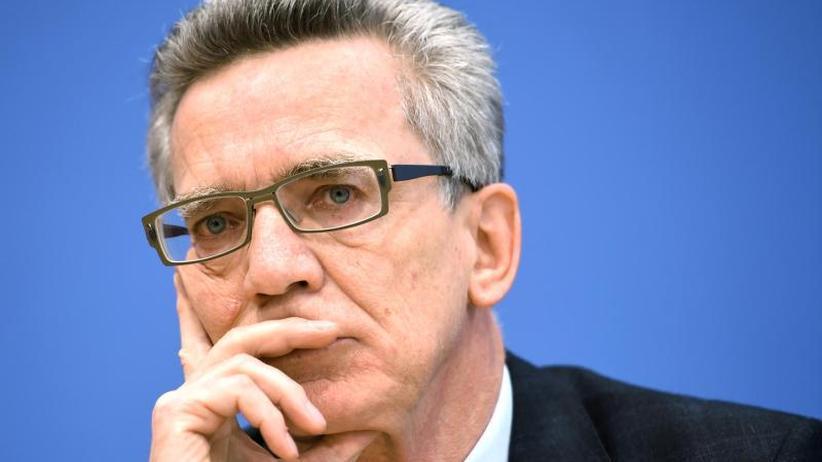"""Grindel-Nachfolger: De Maizière nicht zum DFB:""""Werde mich nicht bewerben"""""""