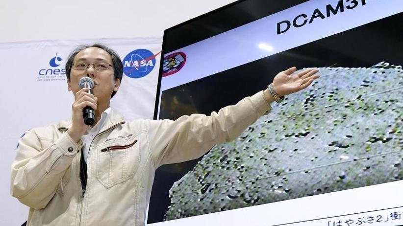 Erforschung des Sonnensystems: Japanische Raumsonde schießt Krater in Asteroiden