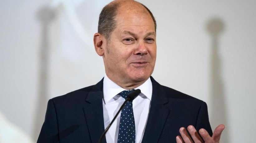 Finanzministertreffen: Scholz: Entscheidungsgewalt über Budget für Euro-Staaten