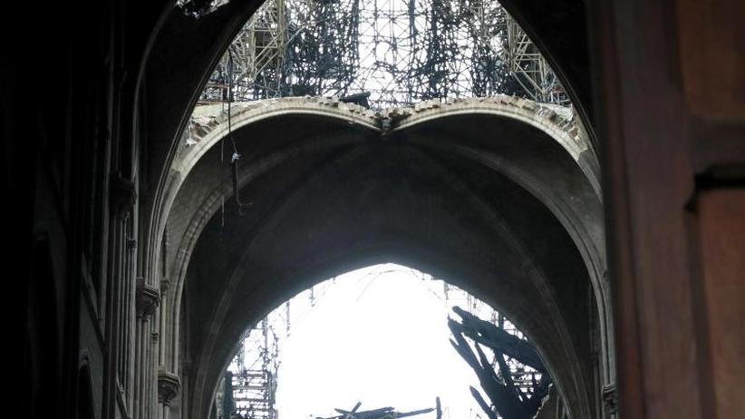 Inferno von Notre-Dame: Frankreich will den Wiederaufbau