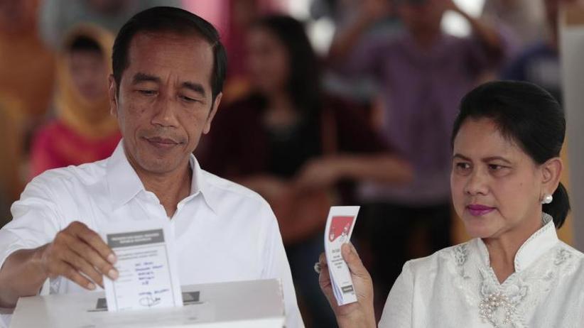 Größter muslimischer Staat: Indonesiens Präsident Joko Widodo vor zweiter Amtszeit