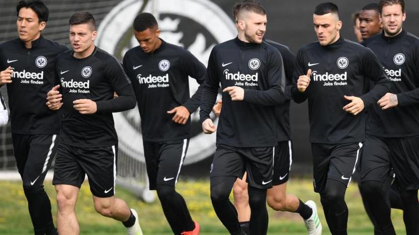 Europa League: Eintracht Frankfurt optimistisch vor Benfica-Duell