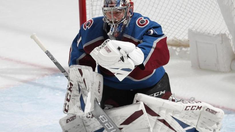 NHL: Starker Eishockey-Goalie Grubauer bei Colorado-Sieg