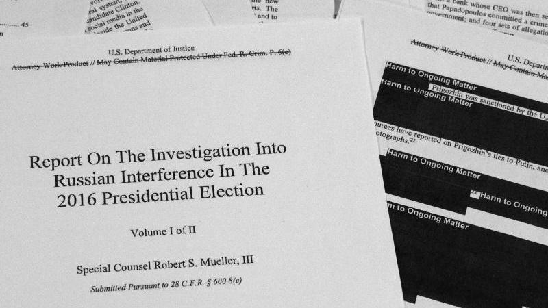 Trump wollte laut Mueller-Bericht Ermittlungen abwenden