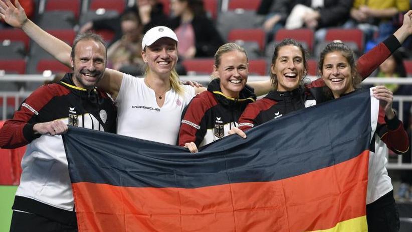 Fed-Cup-Abstiegsspiel: Alternde deutsche Tennis-Damen weiter erstklassig