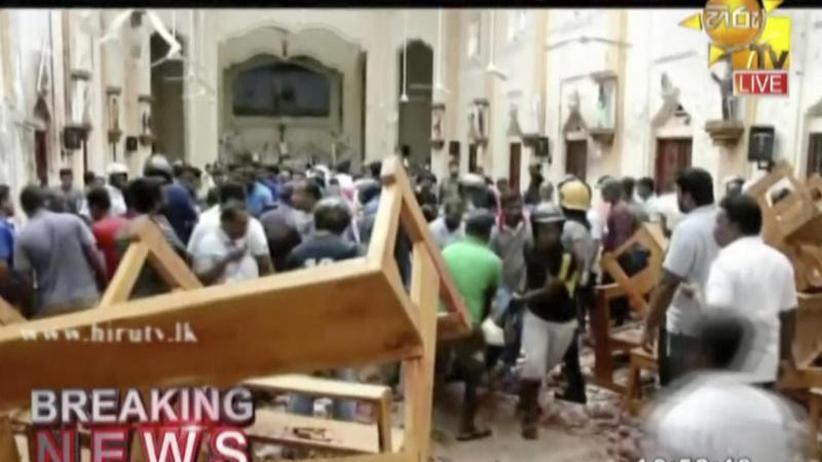 Ziele: Kirchen und Hotels: Mehr als 130 Tote bei mutmaßlichen Anschlägen in Sri Lanka