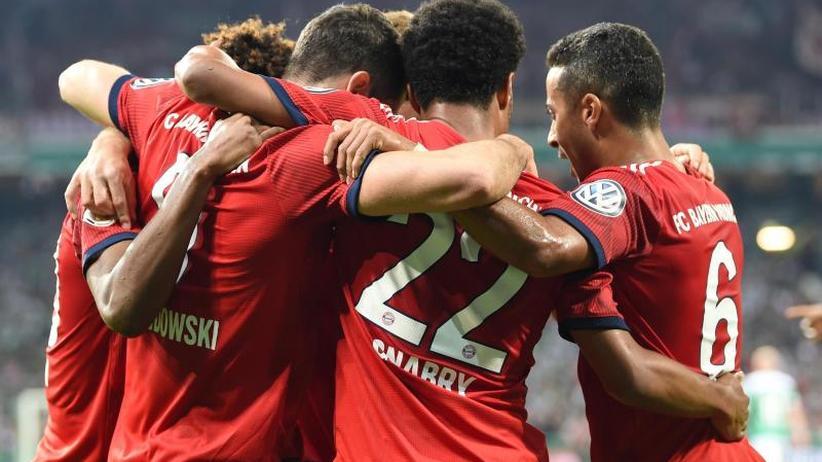 DFB-Pokal: Bayern gewinnen packendes Halbfinale mit 3:2 gegen Bremen