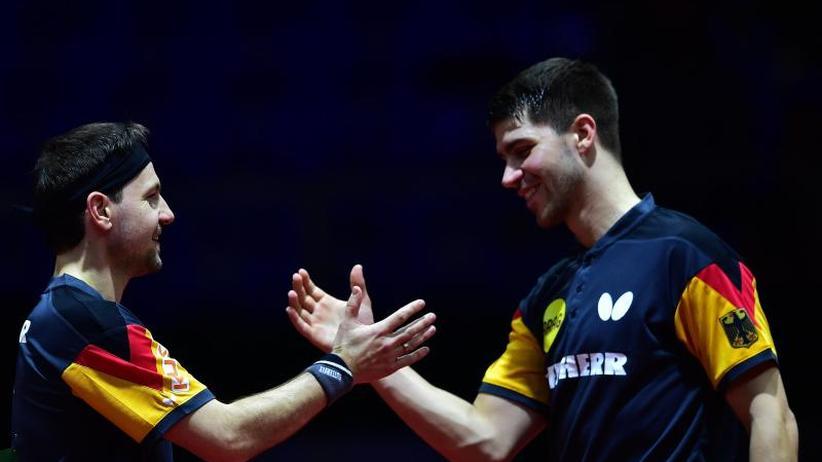 Tischtennis-WM: Deutsches Mixed hat Medaille sicher, Doppel im Viertelfinale