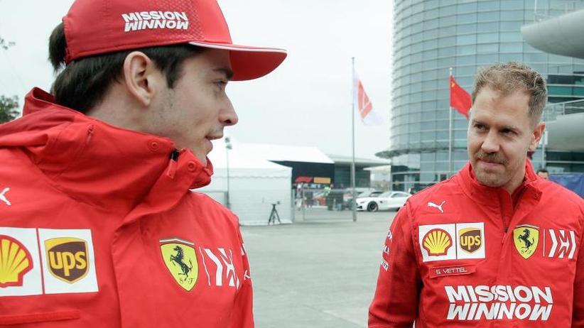 Großer Preis von Aserbaidschan: Ferrari-Duell in Baku: Leclerc macht Druck auf Vettel