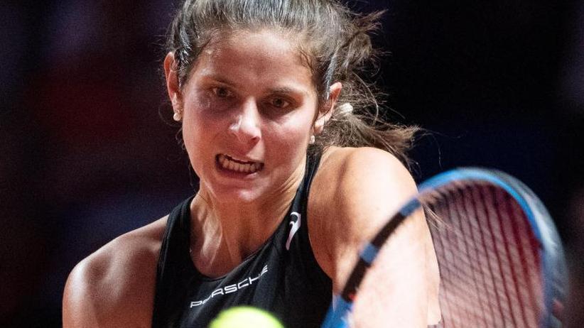 WTA-Turnier: Görges gibt in erster Runde von Stuttgart auf
