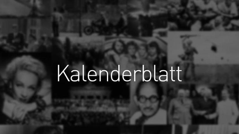 Was geschah am...: Kalenderblatt 2019: 25. April