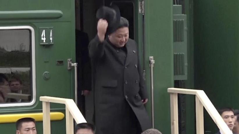 Gespräche über Atomprogramm: Kim zu Gipfel mit Putin in Russland eingetroffen