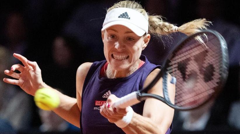 WTA-Turnier: Keine Deutsche im Halbfinale: Auch Kerber in Stuttgart raus
