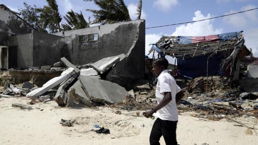 """Auf """"Idai"""" folgt """"Kenneth"""": Sorge vor neuem Leid: Weiterer Zyklon trifft Mosambik"""