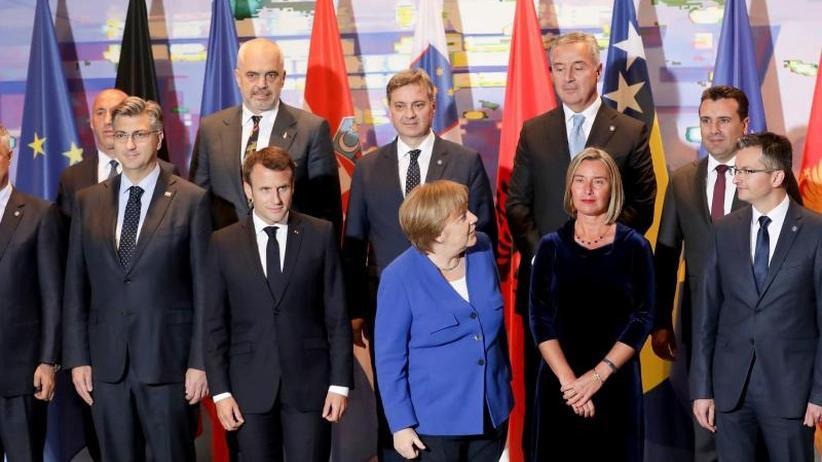 Balkangipfel in Berlin: Balkankonferenz: Belgrad und Pristina wollen wieder reden