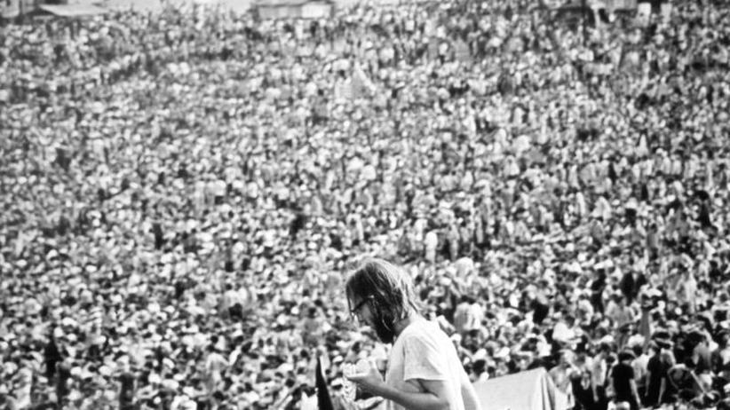 """Ja, nein, vielleicht: Wirbel um Jubiläums-Festival """"Woodstock 50"""""""