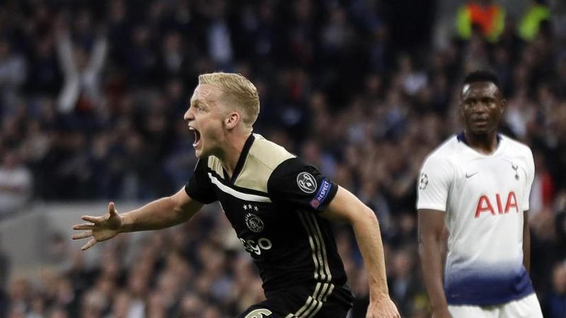 """Champions League: """"Großartiges Ergebnis"""": Ajax vor Einzug ins Finale"""