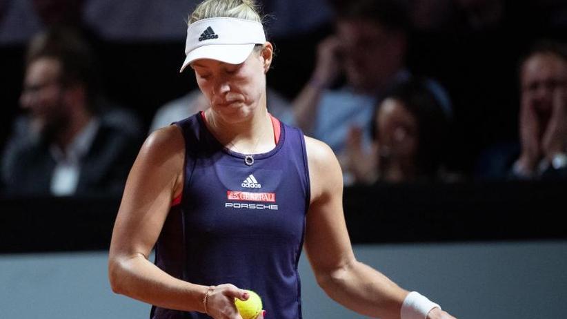 WTA-Turnier in Madrid: Knöchelverletzung: Kerber sagt für Zweitrunden-Match ab