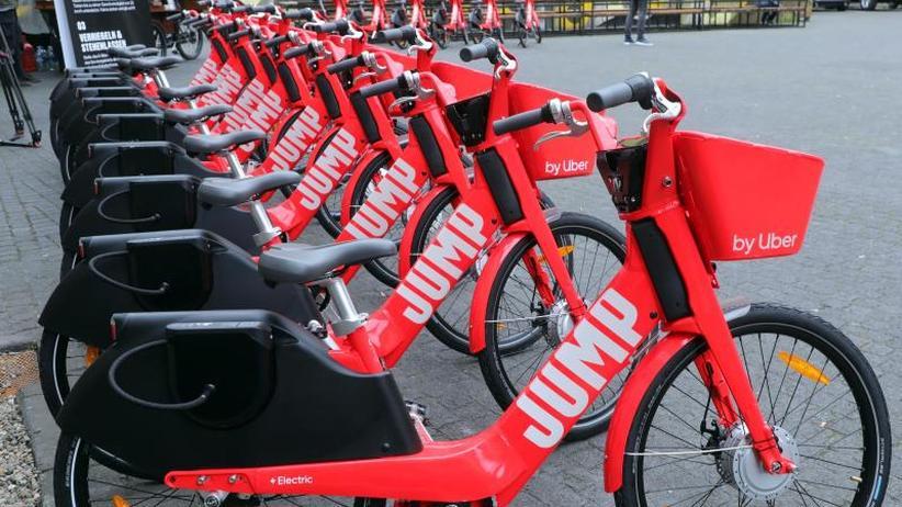 Über App buchbar: Uber startet mit 1000 Elektro-Mieträdern in Berlin