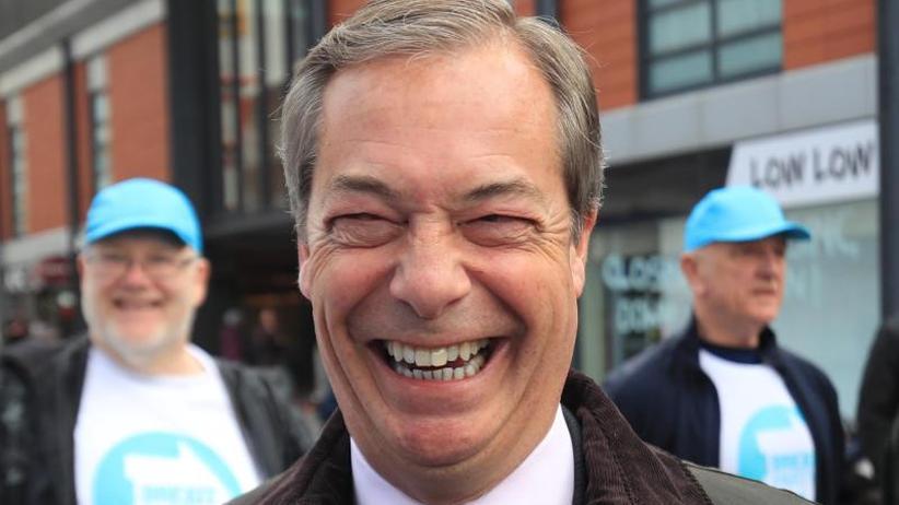 Umfrage: Brexit-Partei überflügelt Volksparteien vor Europawahl