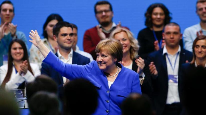 Vor Europawahl: Merkel und Weber stellen sich in Zagreb gegen Nationalismus