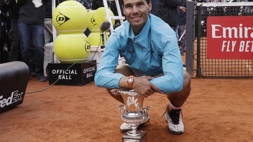 Nadal gewinnt Masters-Series-Turnier in Rom