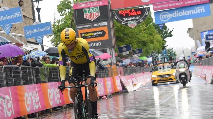 Italien-Rundfahrt: Roglic dominiert den Giro - Sieg im zweiten Zeitfahren