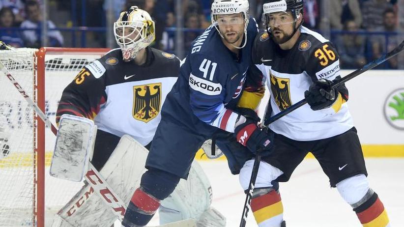 Eishockey-WM: Stark verbessert, aber sieglos: DEB-Team verliert gegen USA