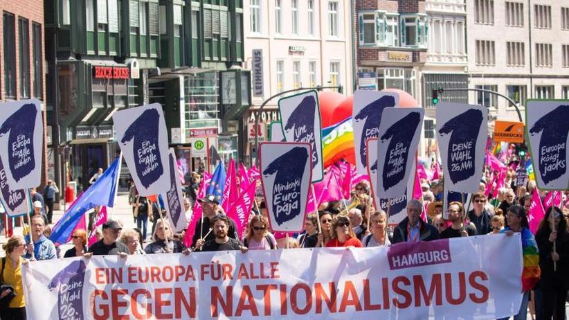 """""""Ein Europa für alle"""": Viele Zehntausend demonstrieren gegen Nationalismus"""