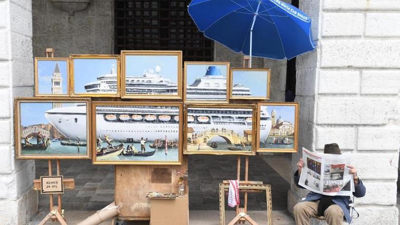 Straßenstand von Weltrang: Banksy gibt in Venedig Rätsel auf