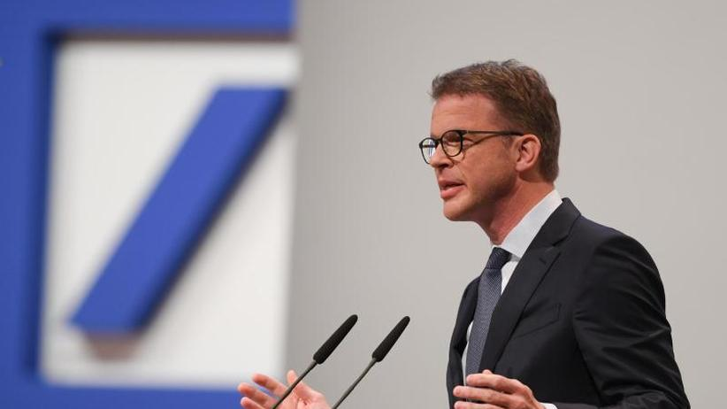Hauptversammlung in Frankfurt: Sewing will Deutsche Bank radikal entrümpeln