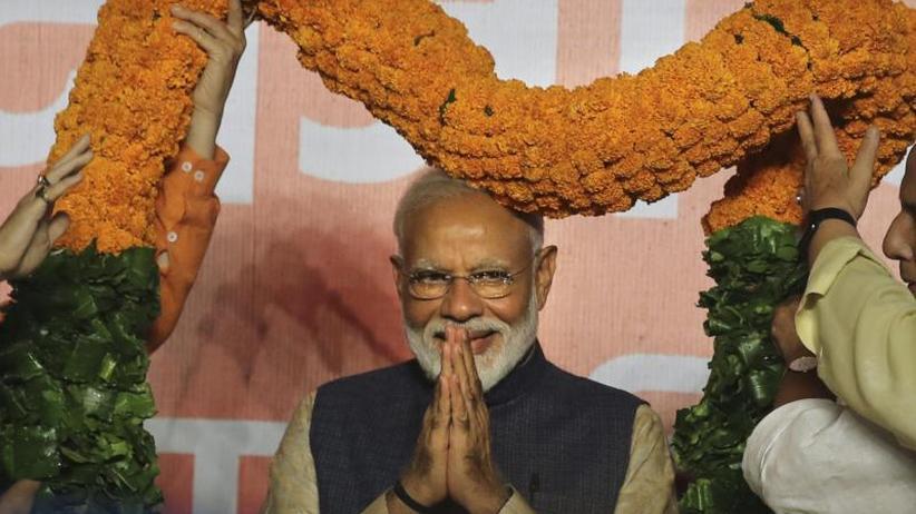 Absolute Mehrheit für Modi: Indische Regierung gewinnt Marathon-Wahl deutlich