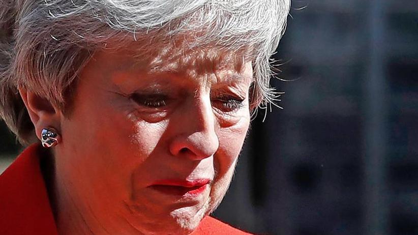 EU-Austritt Großbritanniens: May tritt zurück - Johnson will neuer Premier werden