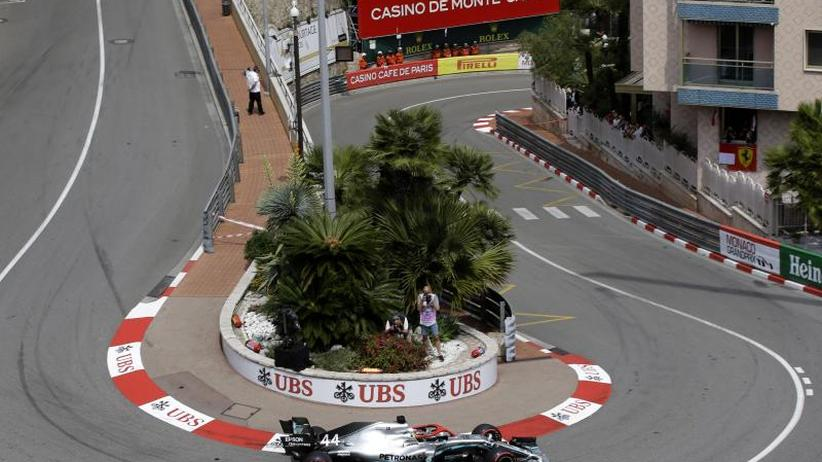 Großer Preis von Monaco: Hamilton auf Pole - Vettel Vierter, Desaster für Leclerc