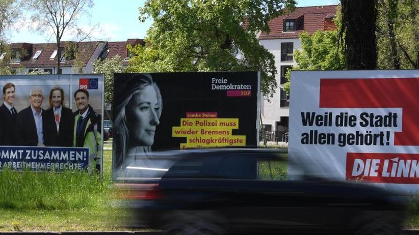 Regierende Sozialdemokraten: Spannung an der Weser: Bleibt Bremen rot?