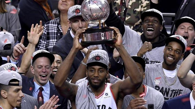 Basketball-Profiliga: Toronto Raptors als erste Kanadier im NBA-Finale