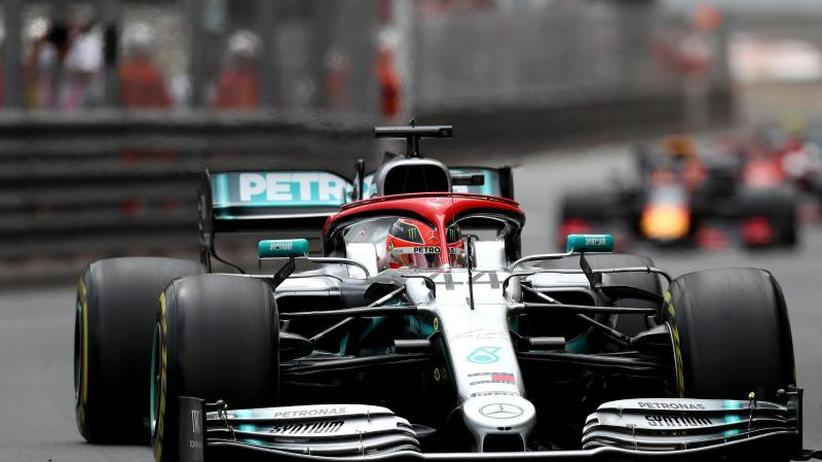Großer Preis von Monaco: Tribut an Lauda: Hamilton zittert sich zu Monaco-Sieg
